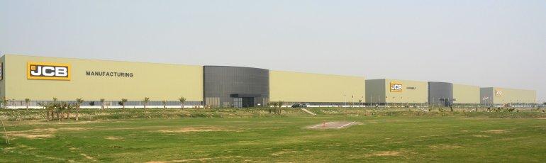 JCB's two new plants in Jaipur