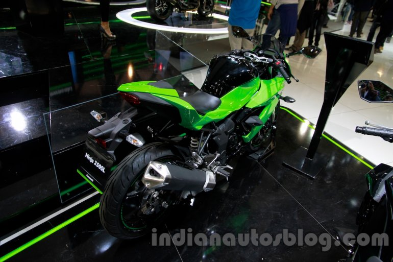 Kawasaki Ninja 250SL rear quarters at the EICMA 2014