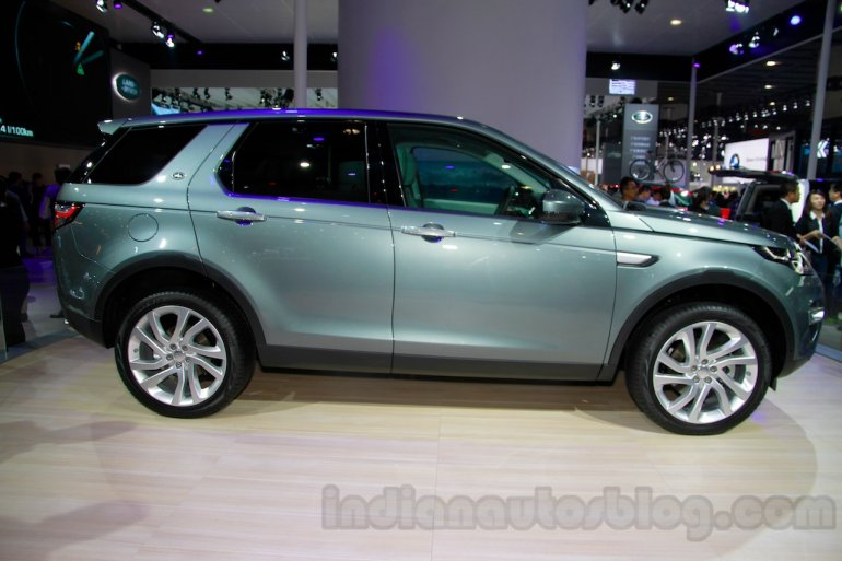 Land Rover Discovery Sport profile at 2014 Guangzhou Auto Show