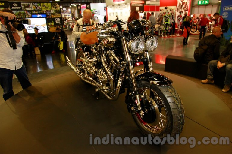 Matchless Model X Reloaded at EICMA 2014