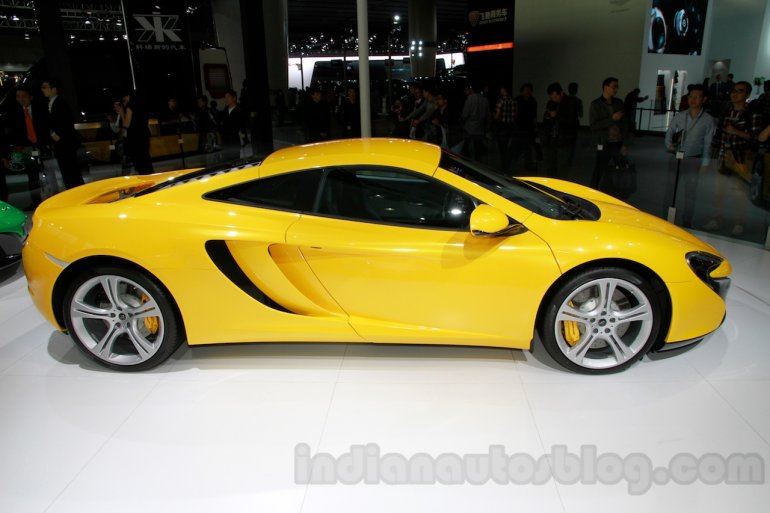McLaren 625C side at the 2014 Guangzhou Auto Show