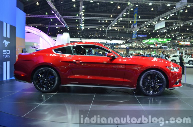 2015 Ford Mustang Side at the 2014 Thailand Motor Show