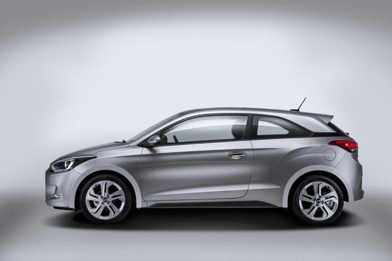 2015 Hyundai i20 Coupe profile