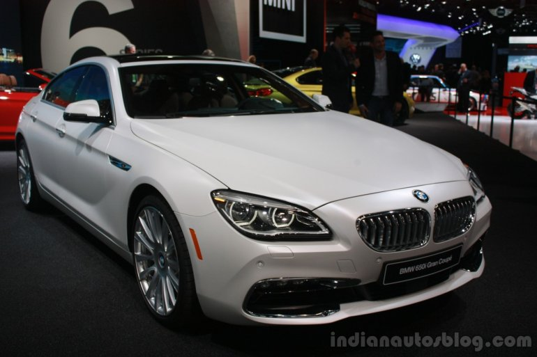 2016 BMW 6 Series Gran Coupe Facelift at the 2015 Detroit Auto Show