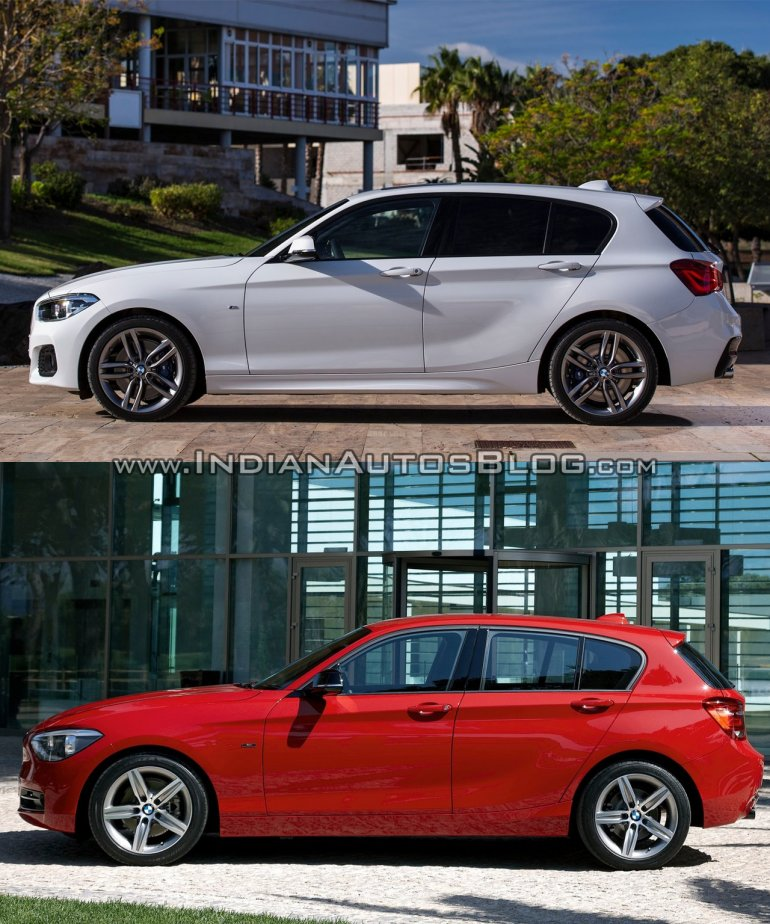 BMW 1 Series Facelift Vs 1 Series (F20)