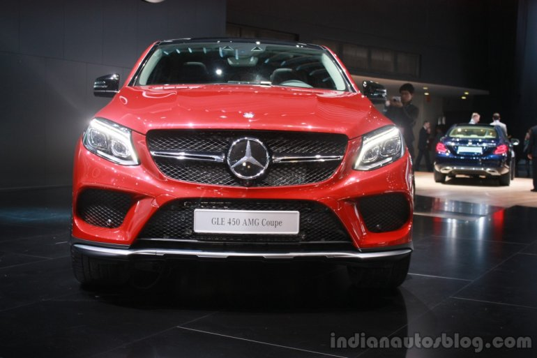 Mercedes AMG GLE 450 AMG Coupe at the 2015 Detroit Auto Show front