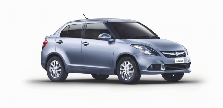 2015 Maruti Swift Dzire side studio image
