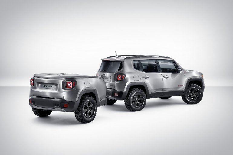Jeep Mopar renegade concept