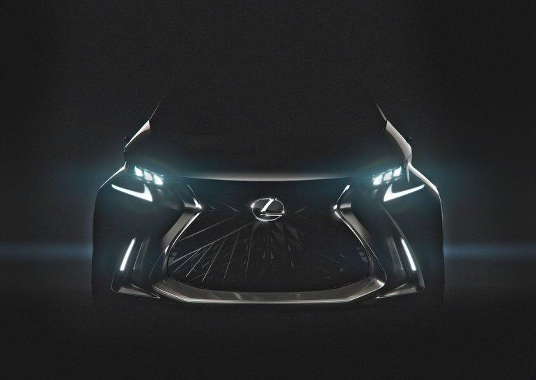 Lexus LF-SA concept teaser enhanced