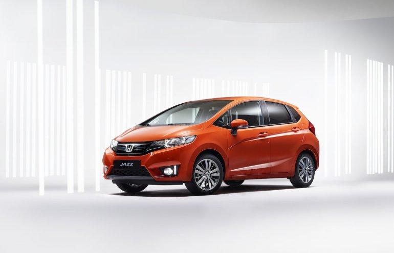 New Honda Jazz Europe front