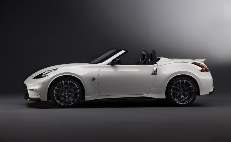 Nissan 370Z NISMO Roadster Concept press side