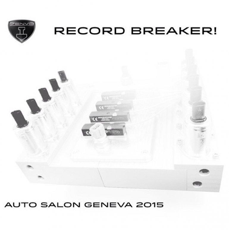 Zenvo hybrid supercar teaser