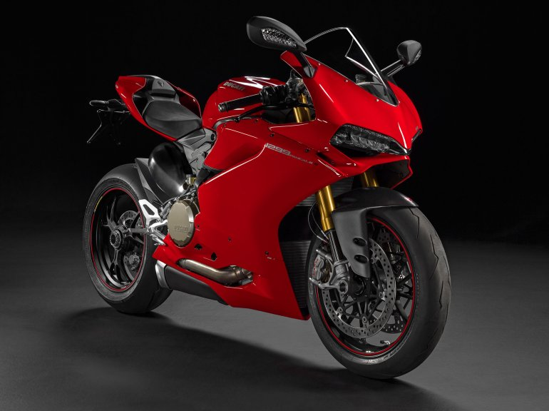 2015 Ducati 1299 Panigale S Right Front Three Quarters