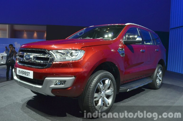 2015 Ford Everest (2015 Ford Endeavour) at the 2015 Bangkok Motor Show