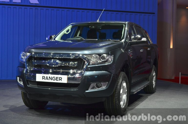 2015 Ford Ranger grille at the 2015 Bangkok Motor Show