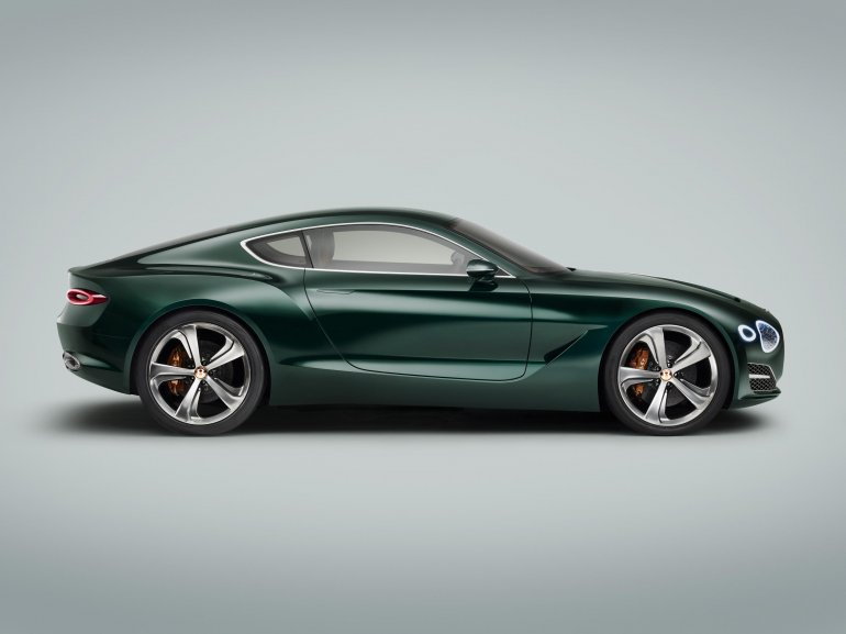 Bentley EXP 10 Speed 6 concept - Side Profile