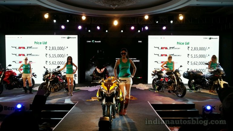 DSK Benelli India launch live