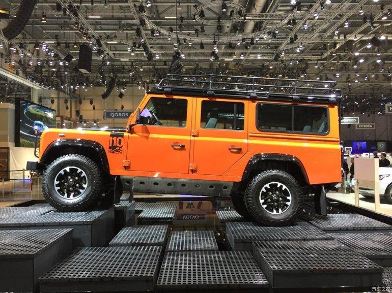 Land Rover Defender Adventure Edition 2015 Geneva Live
