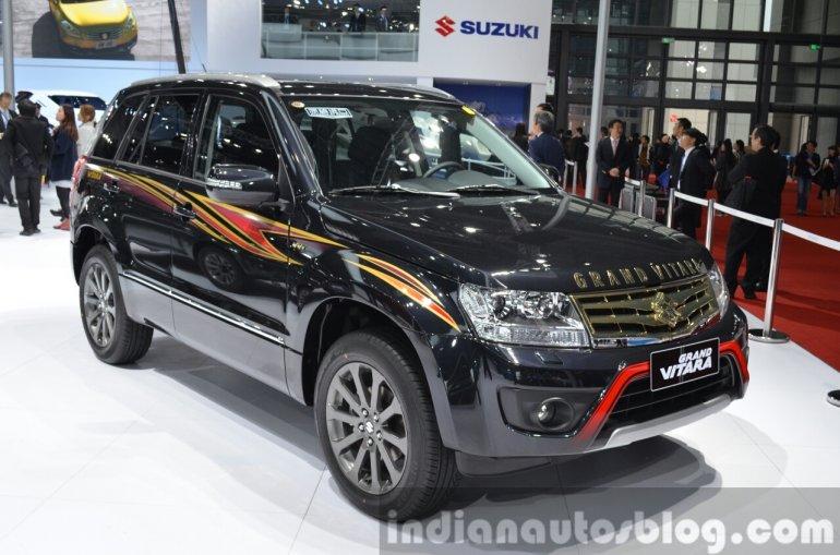 2015 Suzuki Grand Vitara Limited front three quarter at the Auto Shanghai 2015