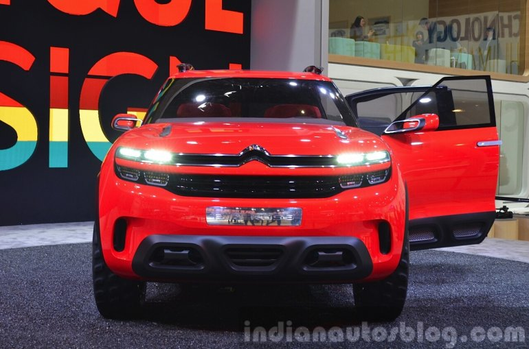 Citroen Aircross Concept front at Auto Shanghai 2015