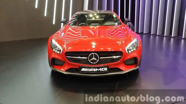 Mercedes AMG GT at the Seoul Motor Show 2015