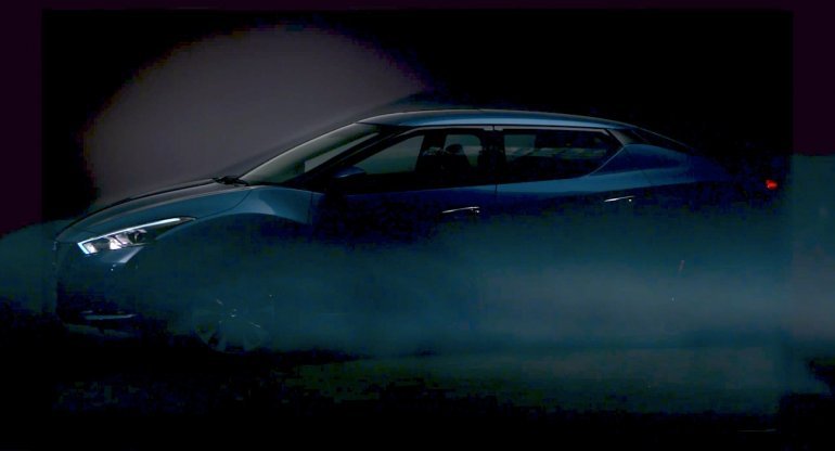 Nissan Lannia side view video teaser screen shot