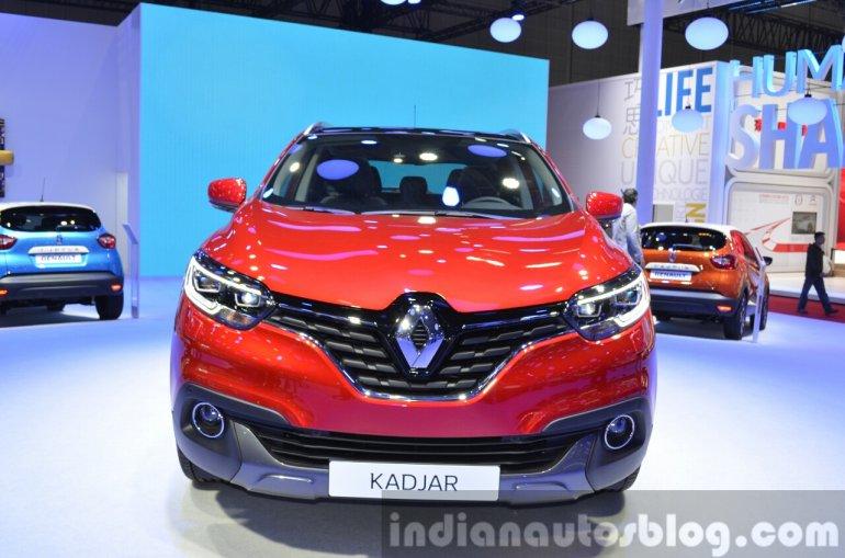 Renault Kadjar front at Auto Shanghai 2015