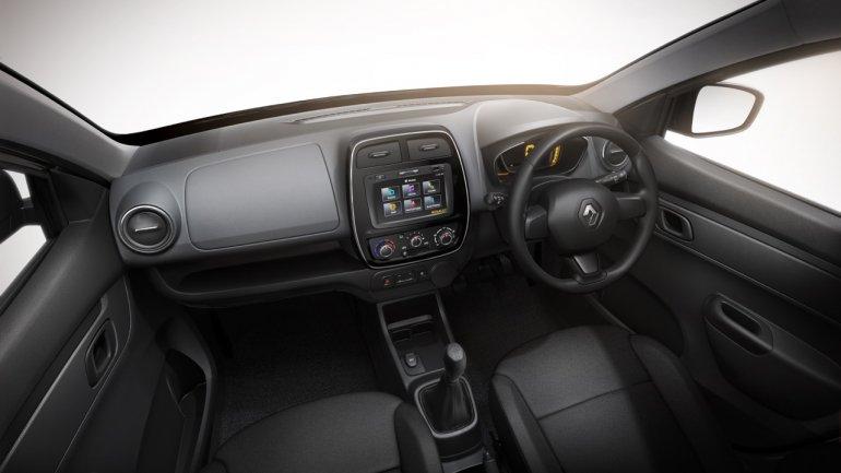 Renault Kwid dashboard press image