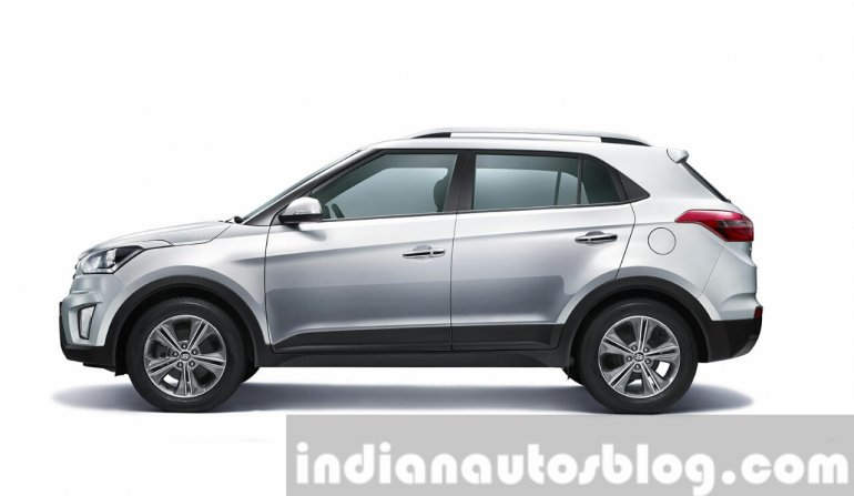 2015 Hyundai Creta side unveiled press image