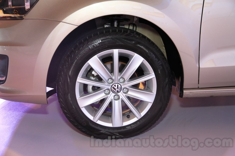 2015 VW Vento facelift alloys