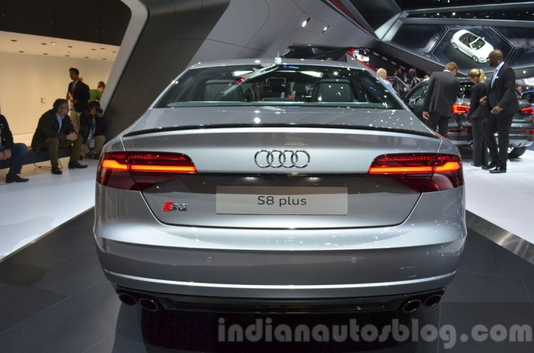 2016 Audi S8 Plus rear at IAA 2015