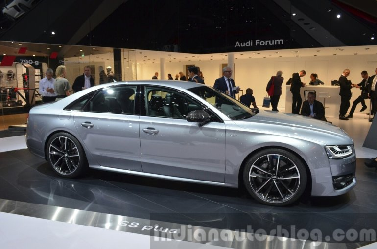 2016 Audi S8 Plus side at IAA 2015