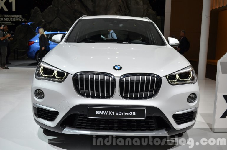 2016 BMW X1 xDrive 25I at the IAA 2015