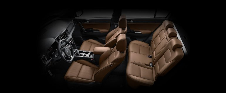 2016 Kia Sportage Korean spec interior