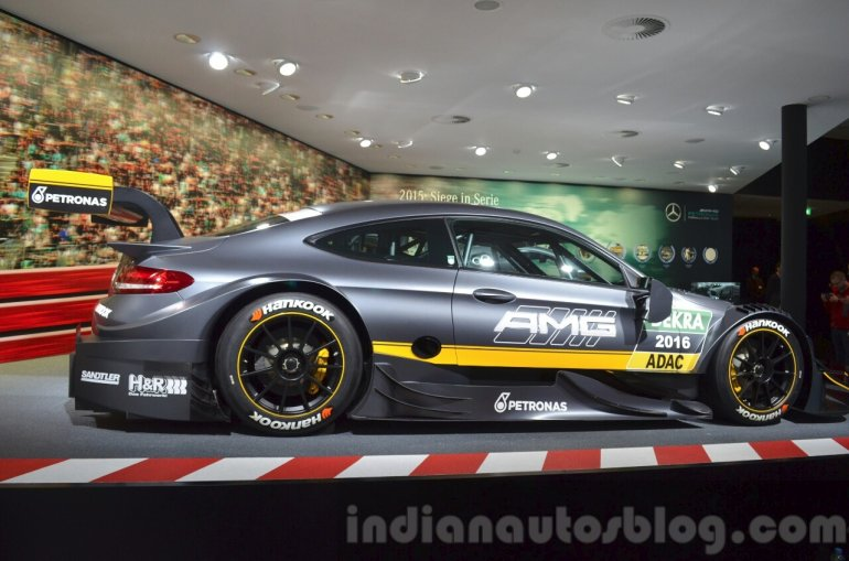 2016 Mercedes-AMG C63 DTM Coupe side at IAA 2015