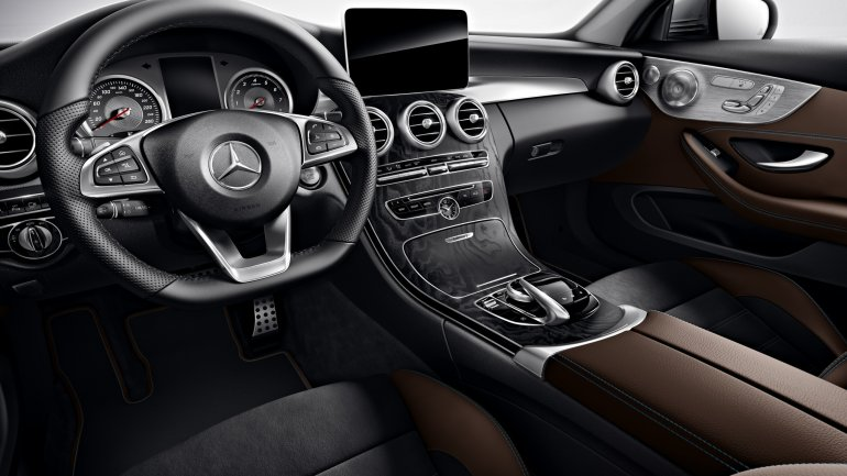 2016 Mercedes C Class Coupe Edition 1 interior unveiled