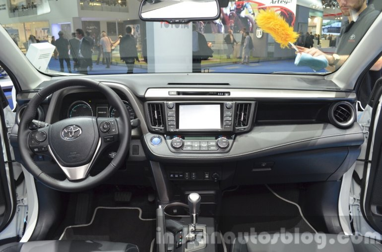 2016 Toyota RAV4 Hybrid dashboard at IAA 2015