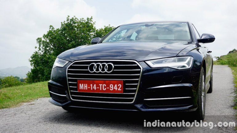 Audi A6 Matrix front three quarter right (fascia) review