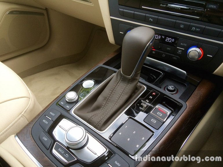 Audi A6 Matrix selector and MMI joystick review