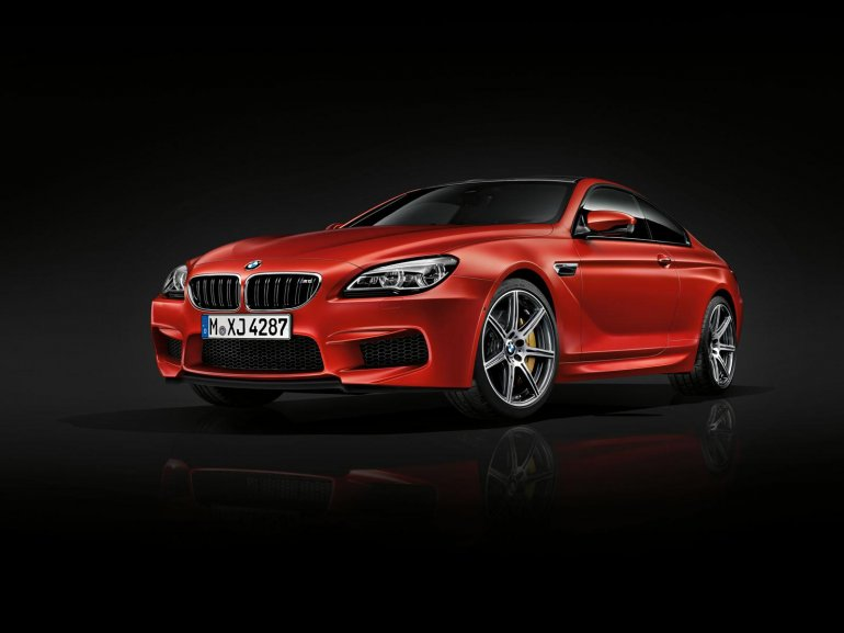 BMW M6 Competition edition front three quarter unveiled