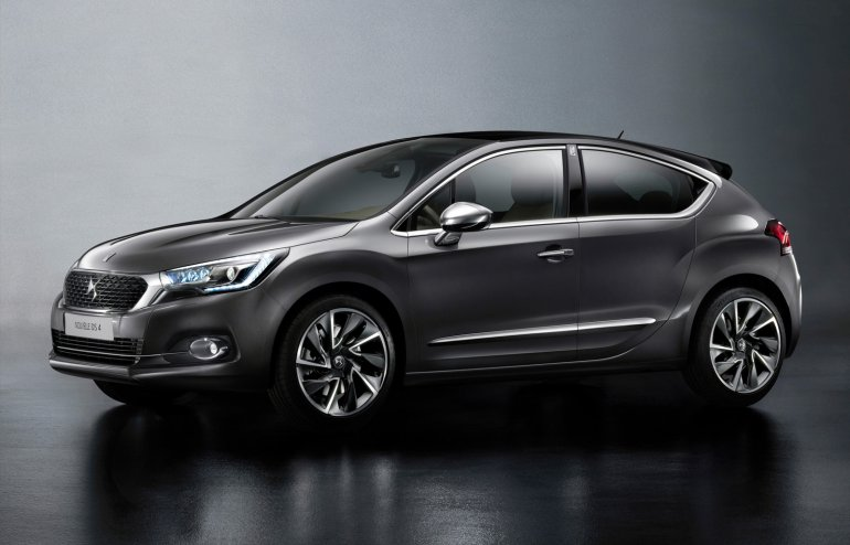 DS 4 front three quarter facelift unveiled