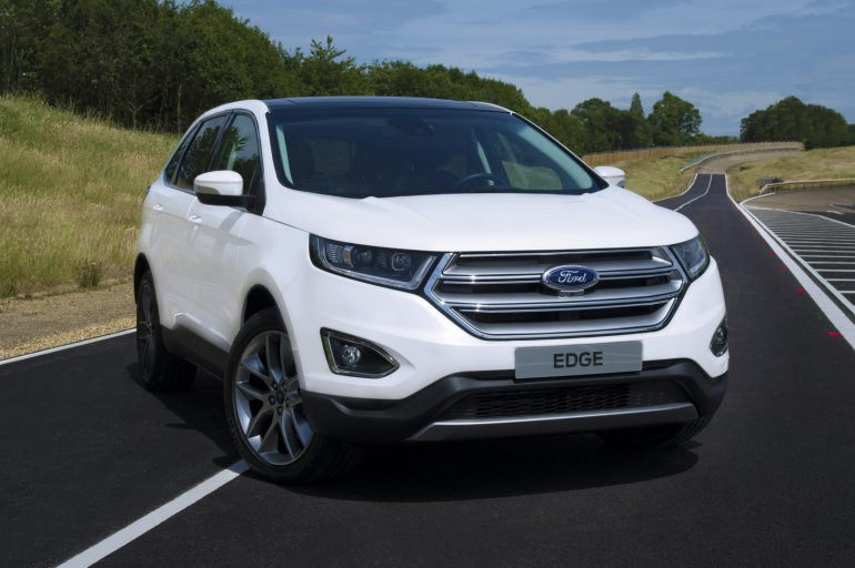 Euro-spec Ford Edge front quarter unveiled