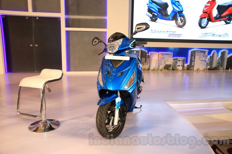 Hero Maestro Edge front launched India