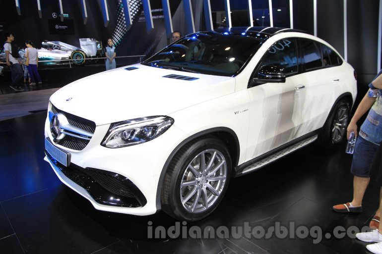 Mercedes-AMG GLE 63 Coupe front quarter at the 2015 Chengdu Motor Show