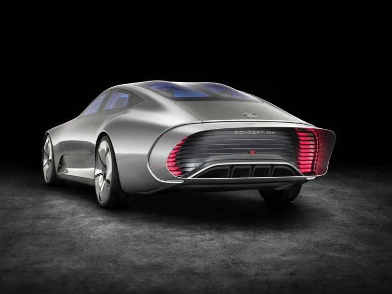 Mercedes Concept IAA for the 2015 Frankfurt Motor Show tail lights