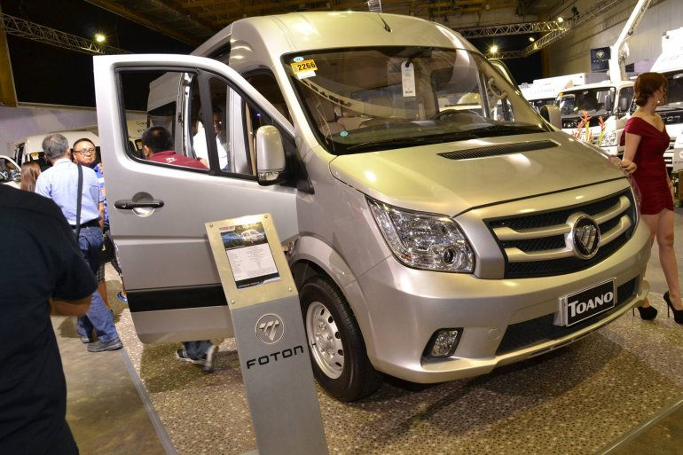 Foton Toano front quarter launched in Philippines