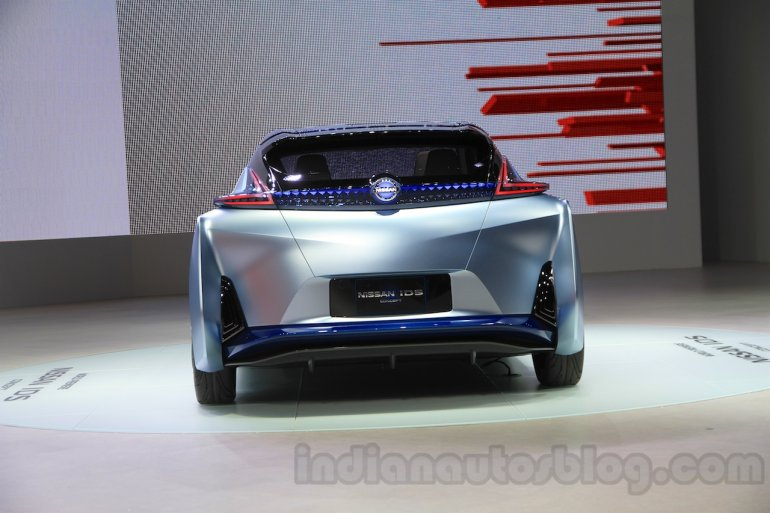 Nissan IDS Concept rear at the 2015 Tokyo Motor Show