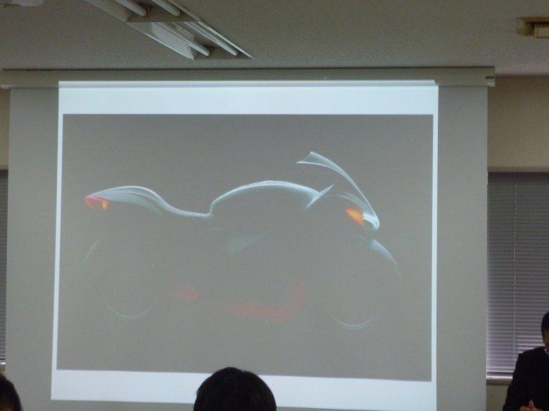 Suzuki GSX concept presentation