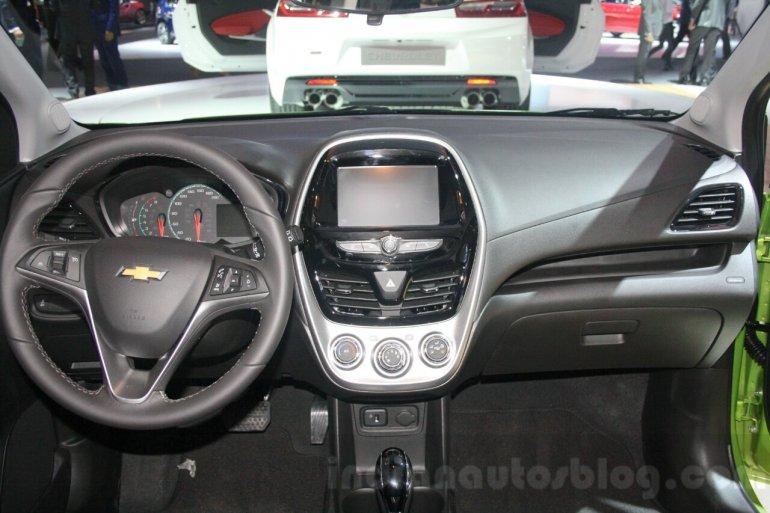 2016 Chevrolet Spark interior at DIMS 2015