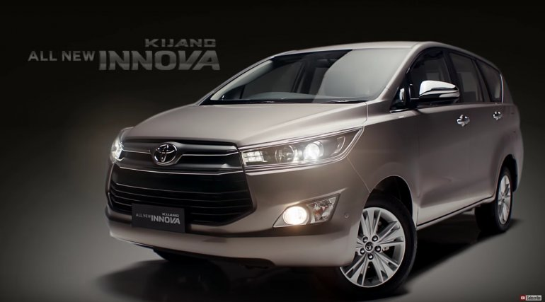 2016 Toyota Innova front quarter video